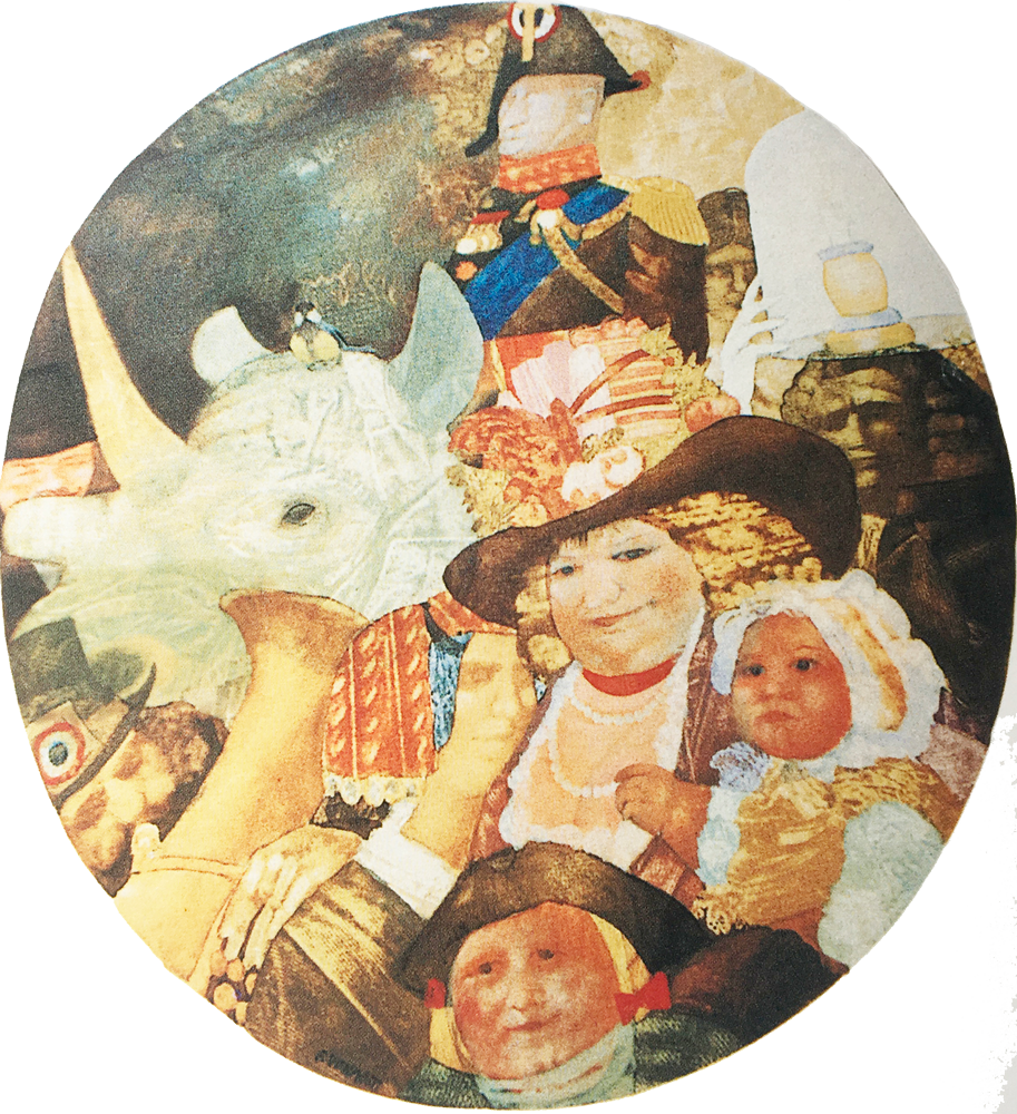 Il condottiero, 110x90 – Olio