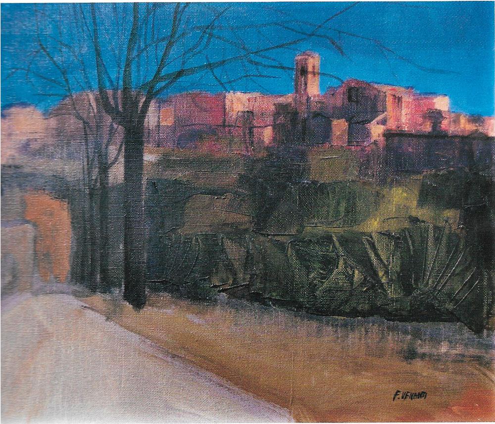 Autunno a Perugia, 30x40 – Olio