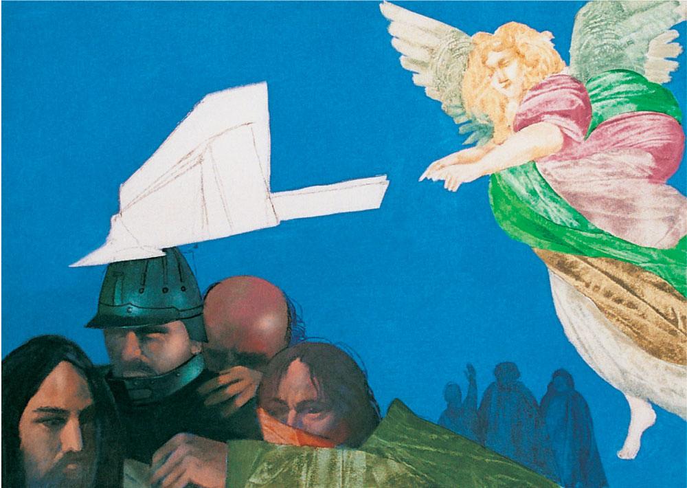 La cattura del Messia, cm 50x70 - Olio e tempera su tela