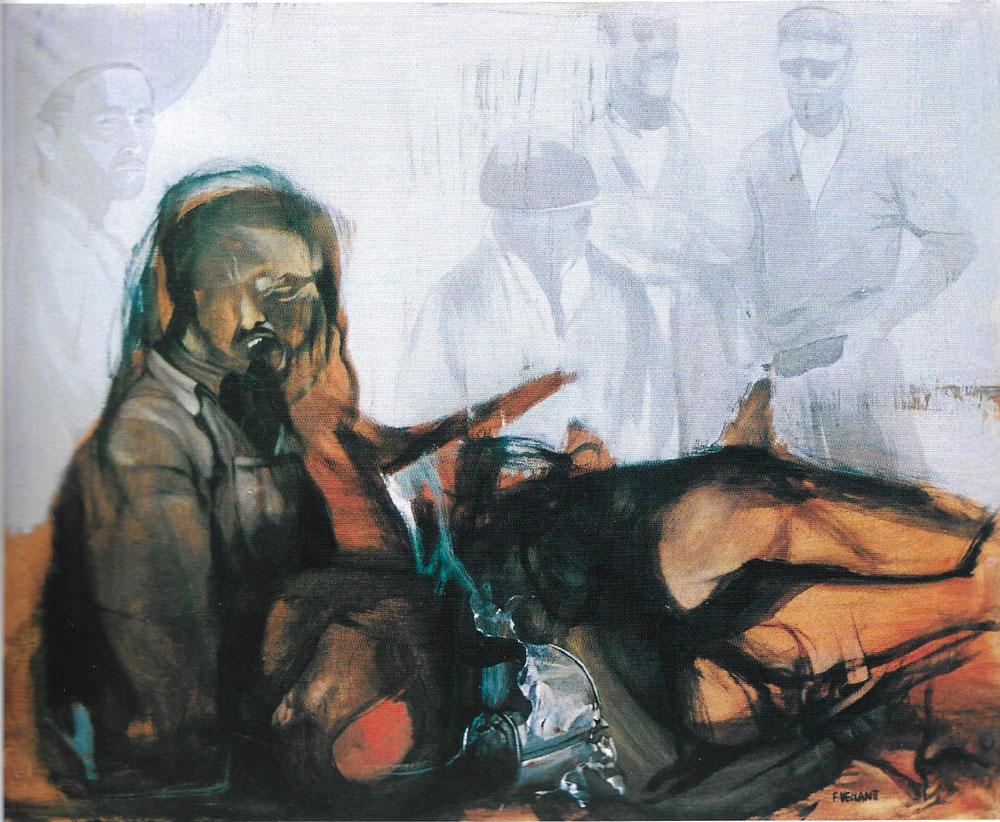 Omaggio a Che Guevara, 80x100 – Olio