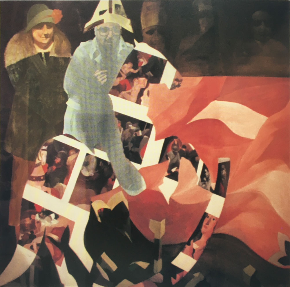 Il grande dittatore, 140x150 - Olio