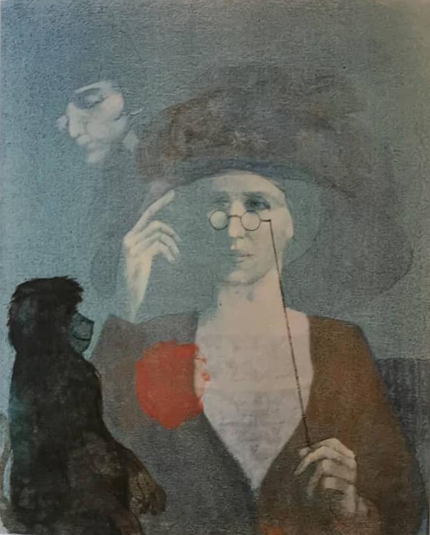 """""""L'antenato"""" di Franco Venanti"""