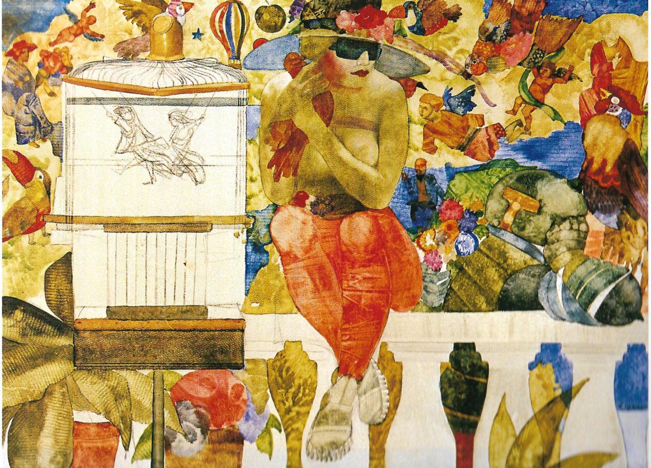 """Nel giardino"" di Franco Venanti"